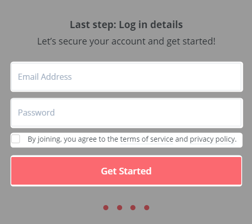 ConvertKitの新規登録