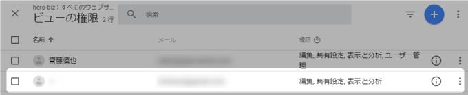 Googleアナリティクスのユーザー追加